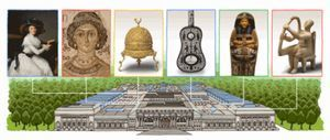 メトロポリタン美術館 Googleのトップページ